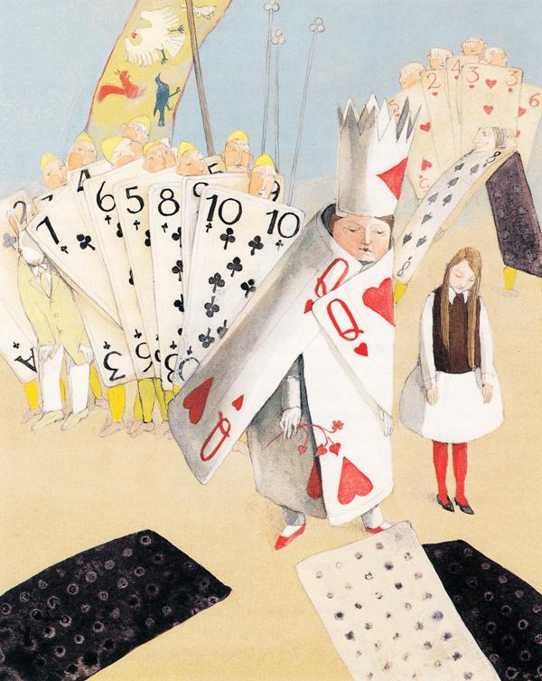 Alice in Wonderland by Lisbeth Zwerger