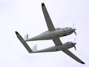 Twin planes for more power- the rutan