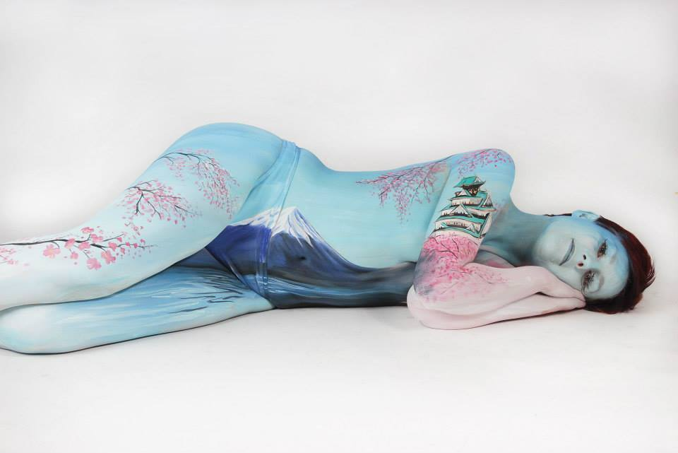 Gesine Marwedel Body Painting