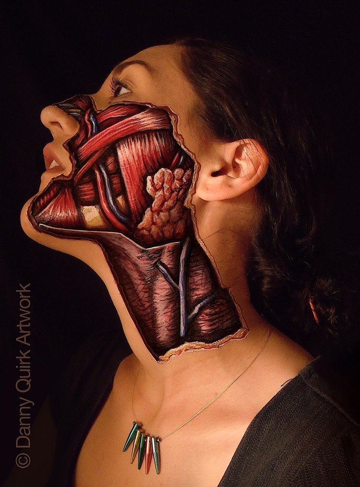 Body painting Danny Quirk