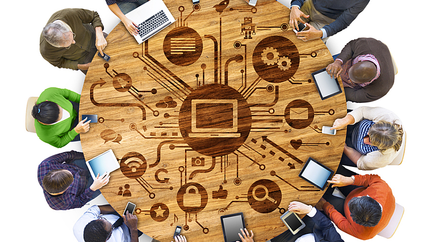 Options de collaboration en temps réel