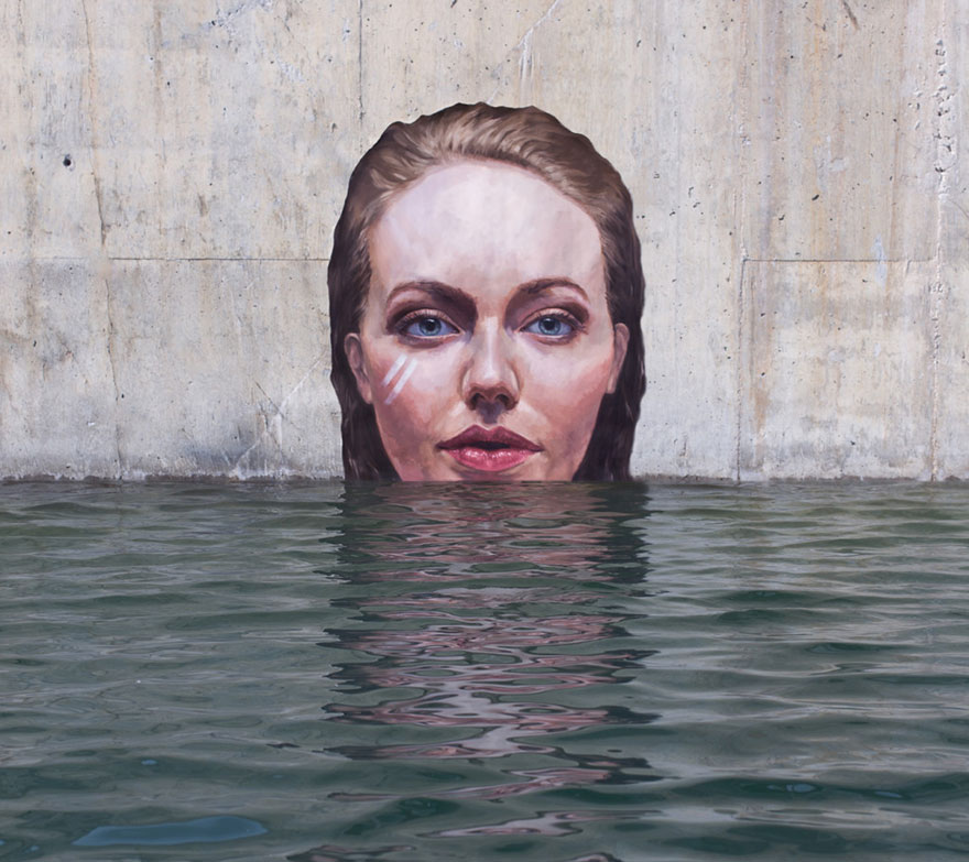 Hula street art murals water Sean Yoro