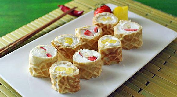 dan whalen waffle sushi