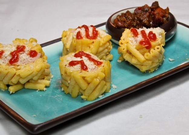 mac and cheese sushi