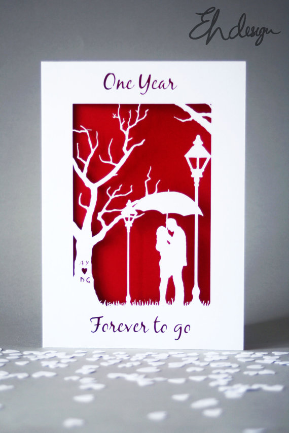 EH Design Store papercut cards