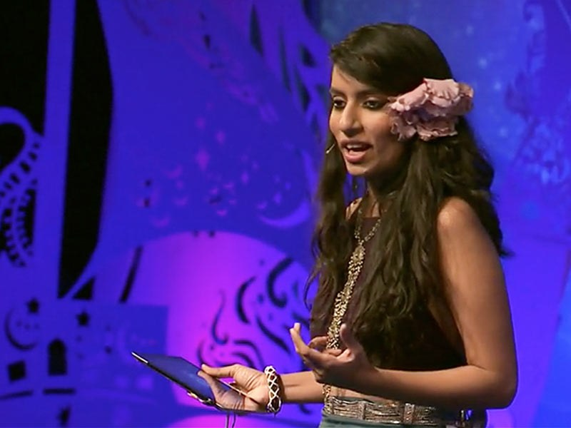 Shilo Shiv Suleman at the Ted Global