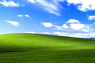 "bliss by Charles ""Chuck"" O'Rear windows XP"