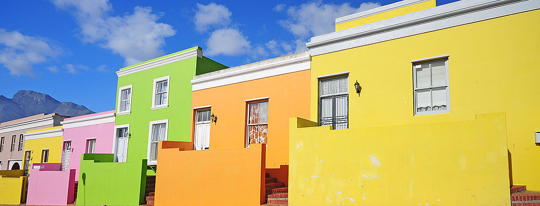Bo Kaap Colourful Cities
