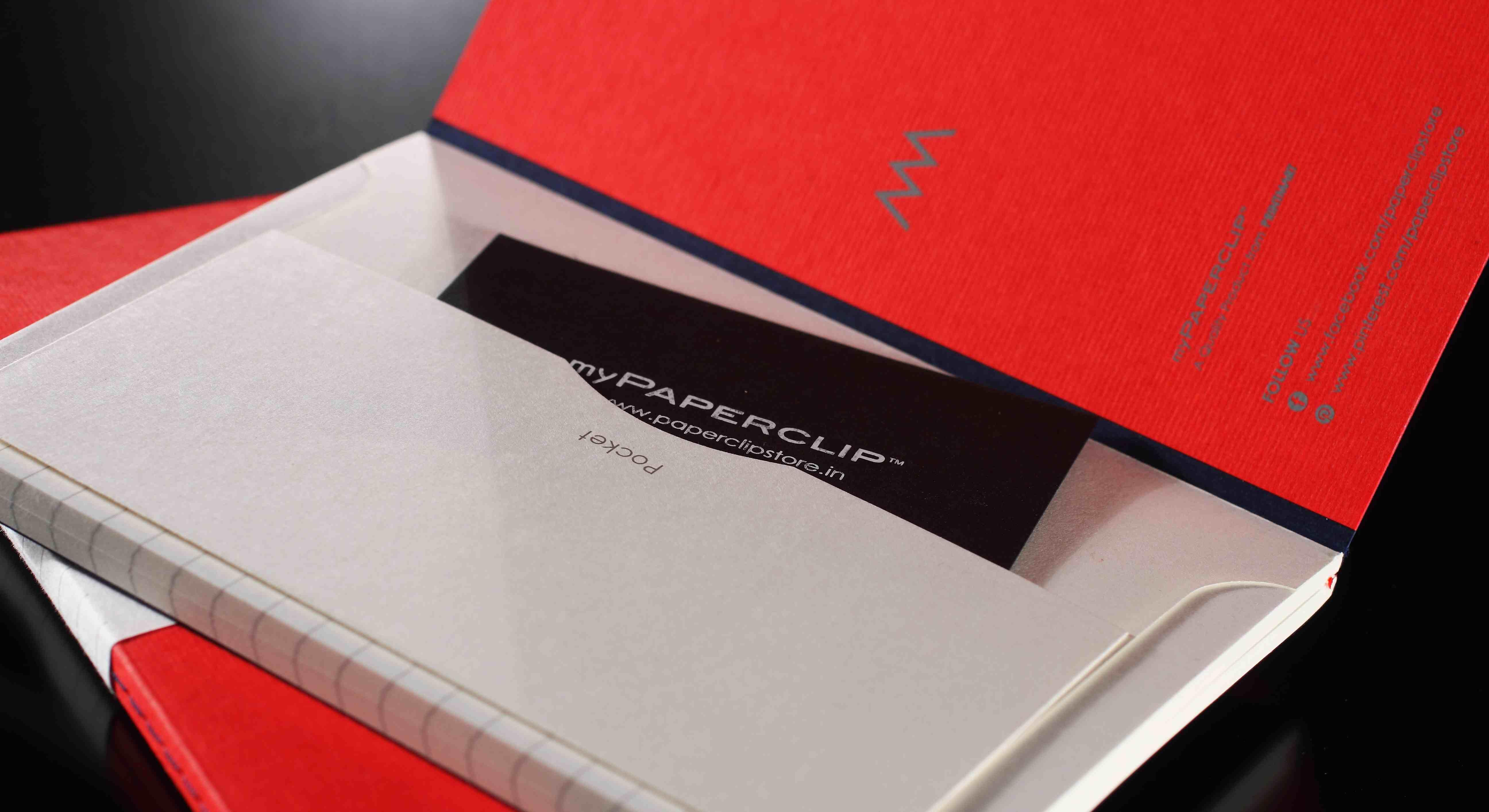 myPaperclip Notebooks Ajay Batra