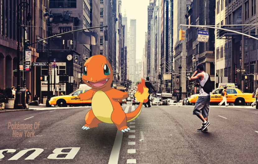 Pokemons of New York
