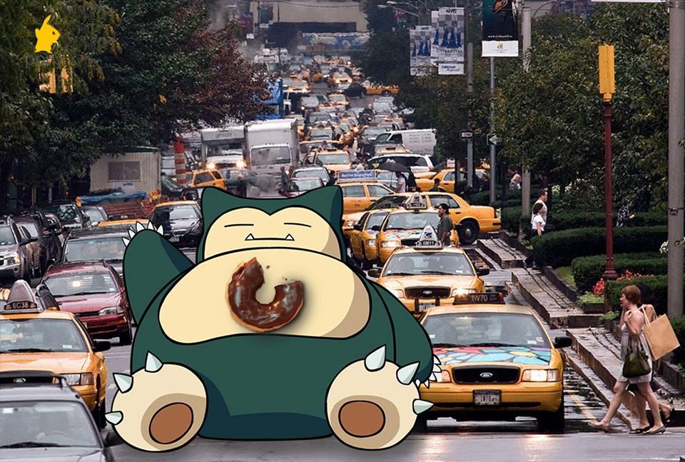Pokemons of New York