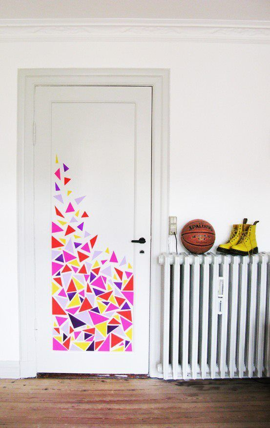 DIY  door decoration