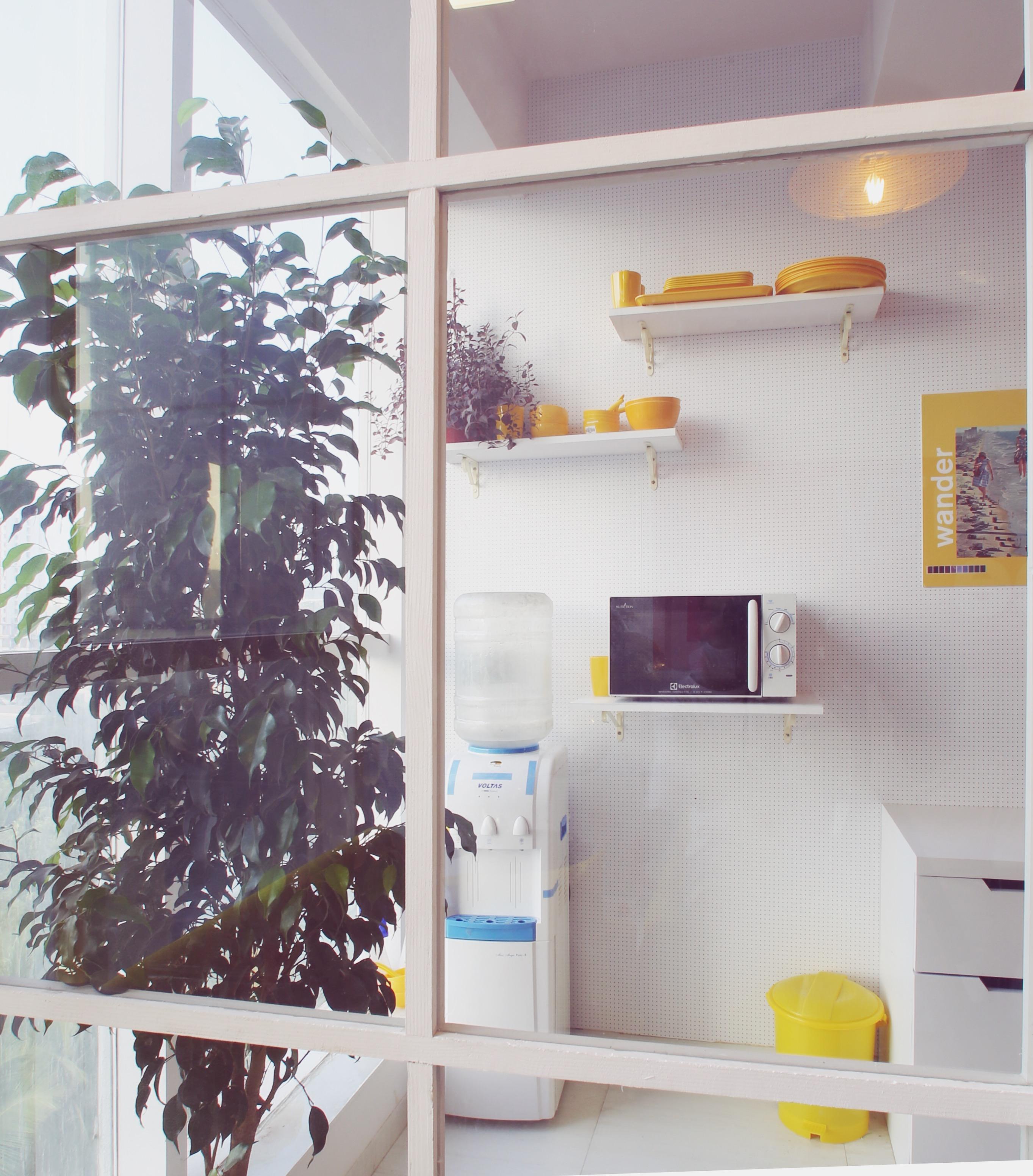 The office breakroom