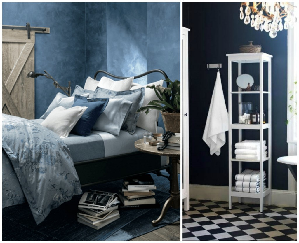 Blue inspired bedrooms/ bathrooms