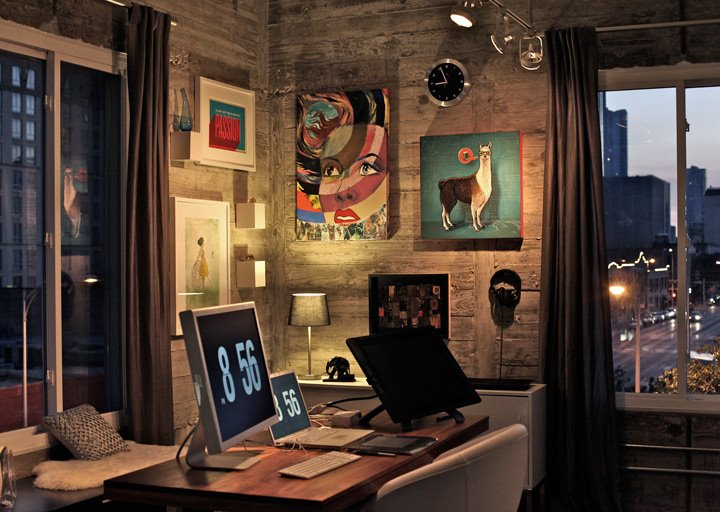 Marvelous 9 Creative Workspace Design Ideas That Are Perfect For Freelancers Largest Home Design Picture Inspirations Pitcheantrous