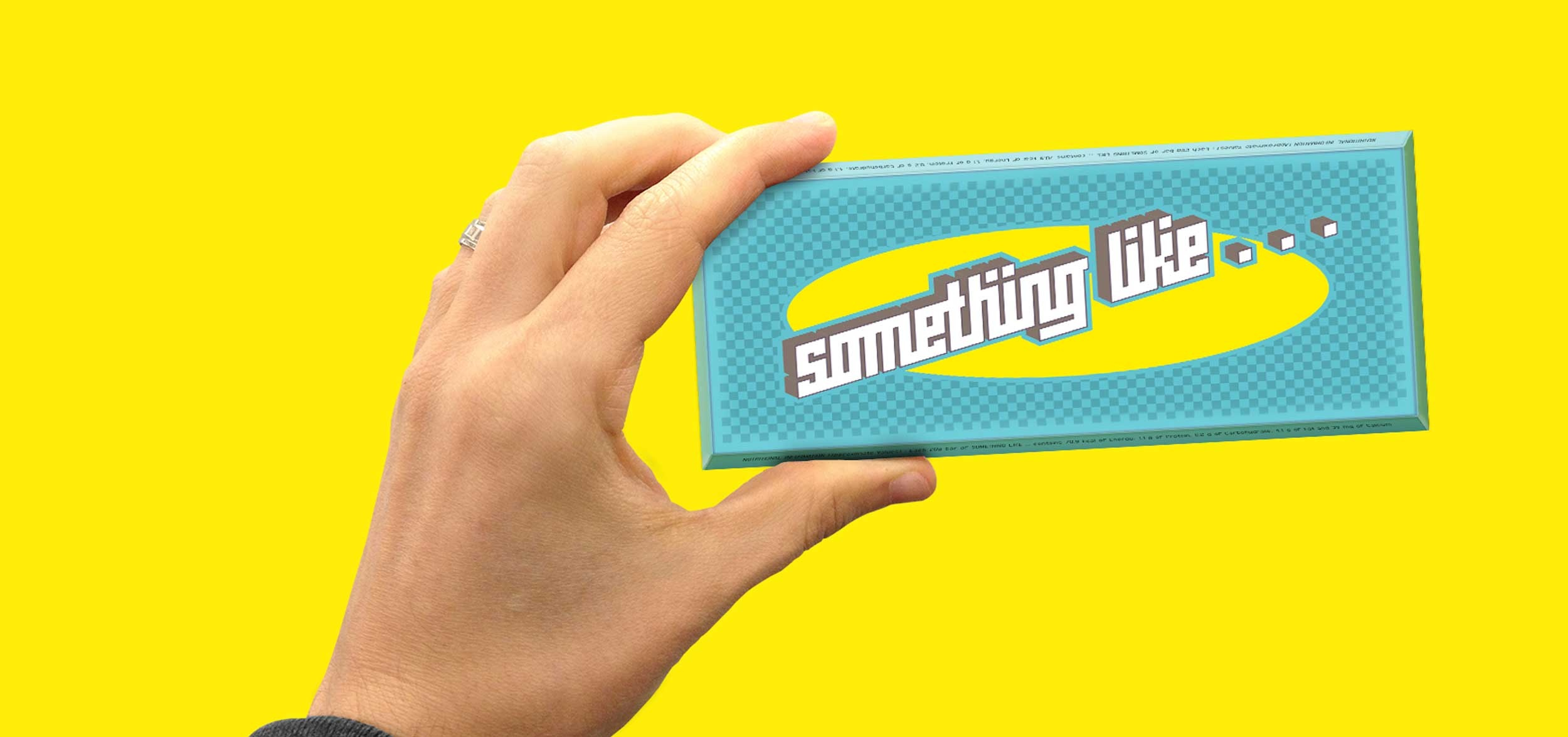 Concept and packaging for the chocolate brand 'Something Like'