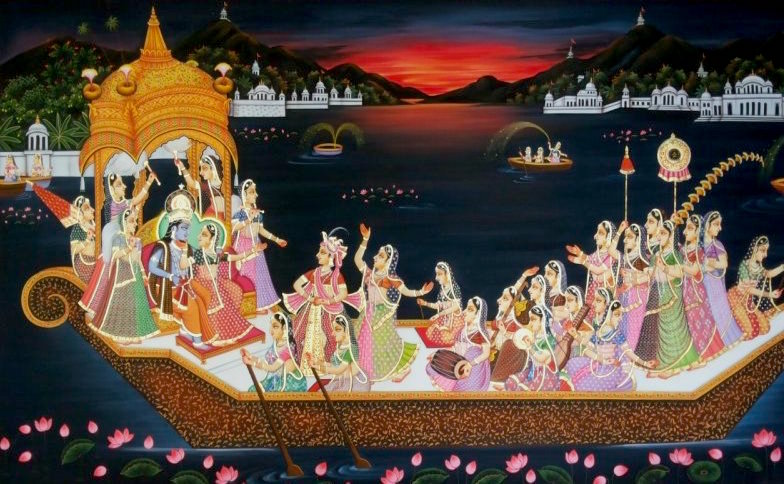 Krishna Nauka Vihar by Rajendra Khanna
