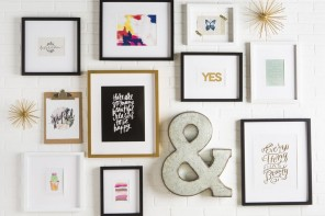 Transform Your Walls With These 5 Super Simple DIY Picture Frame Ideas
