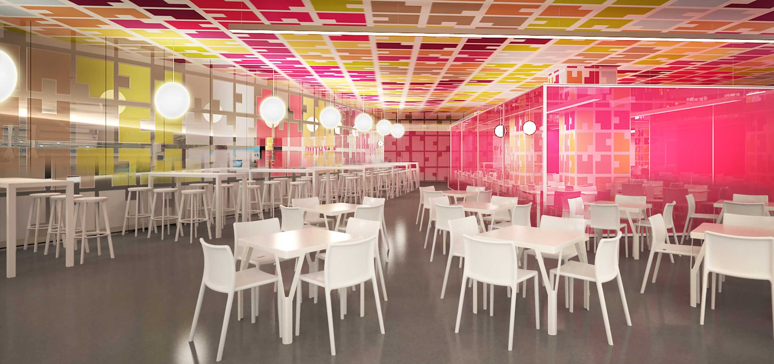 Via South - take it easy diner' - the first branded food court in the city of Chennai.