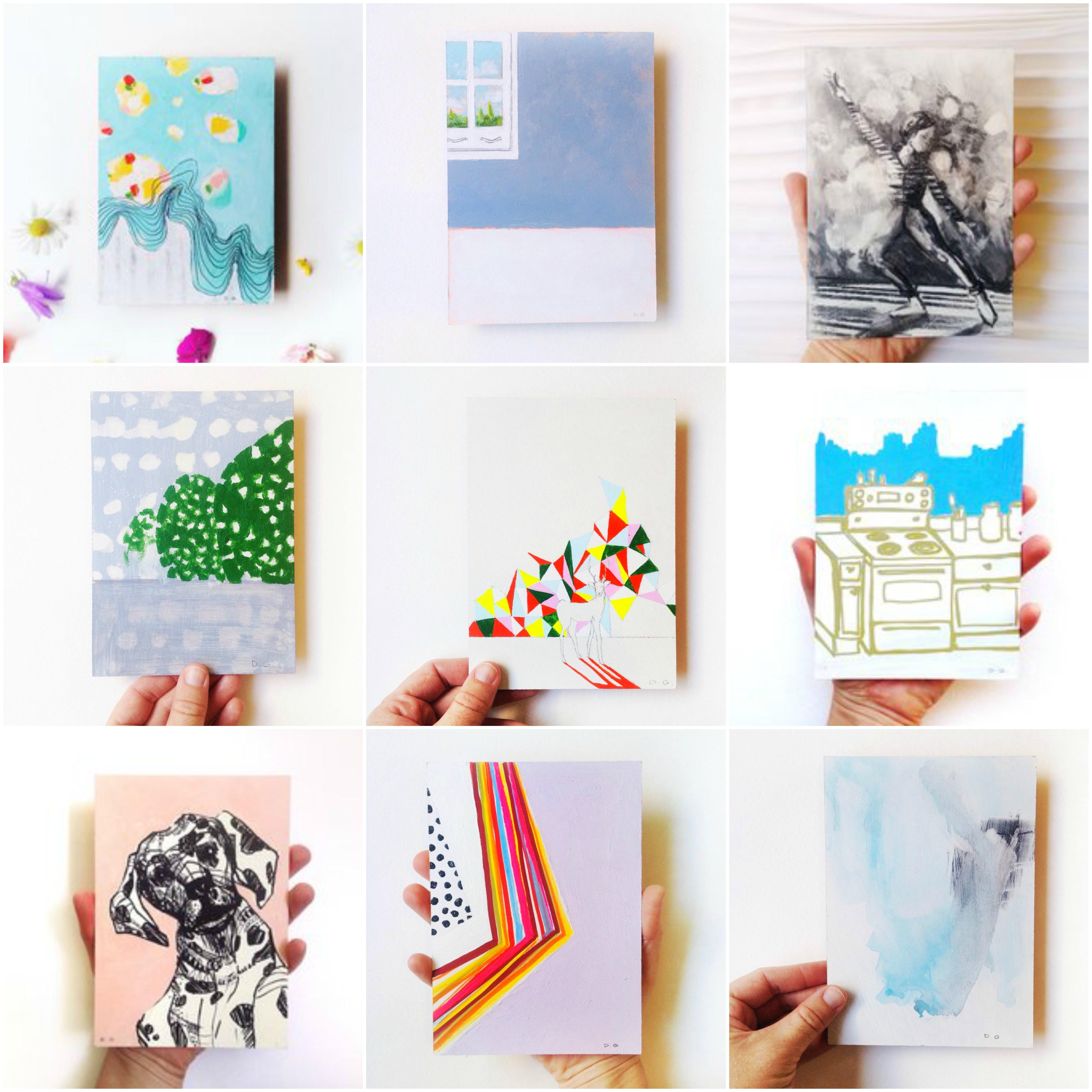 Denise GasserInterview  Collage