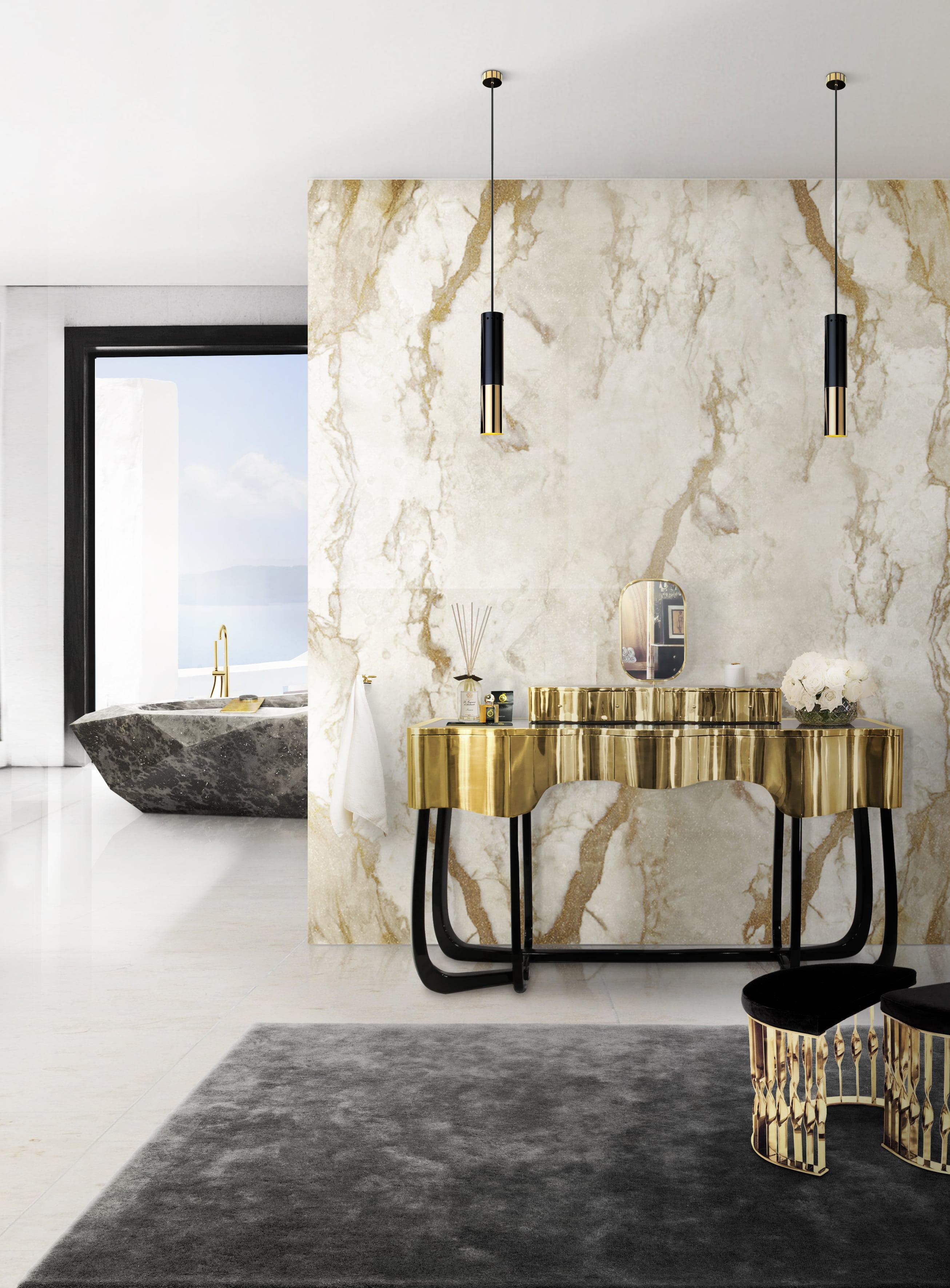 Gold-golden-bathroom