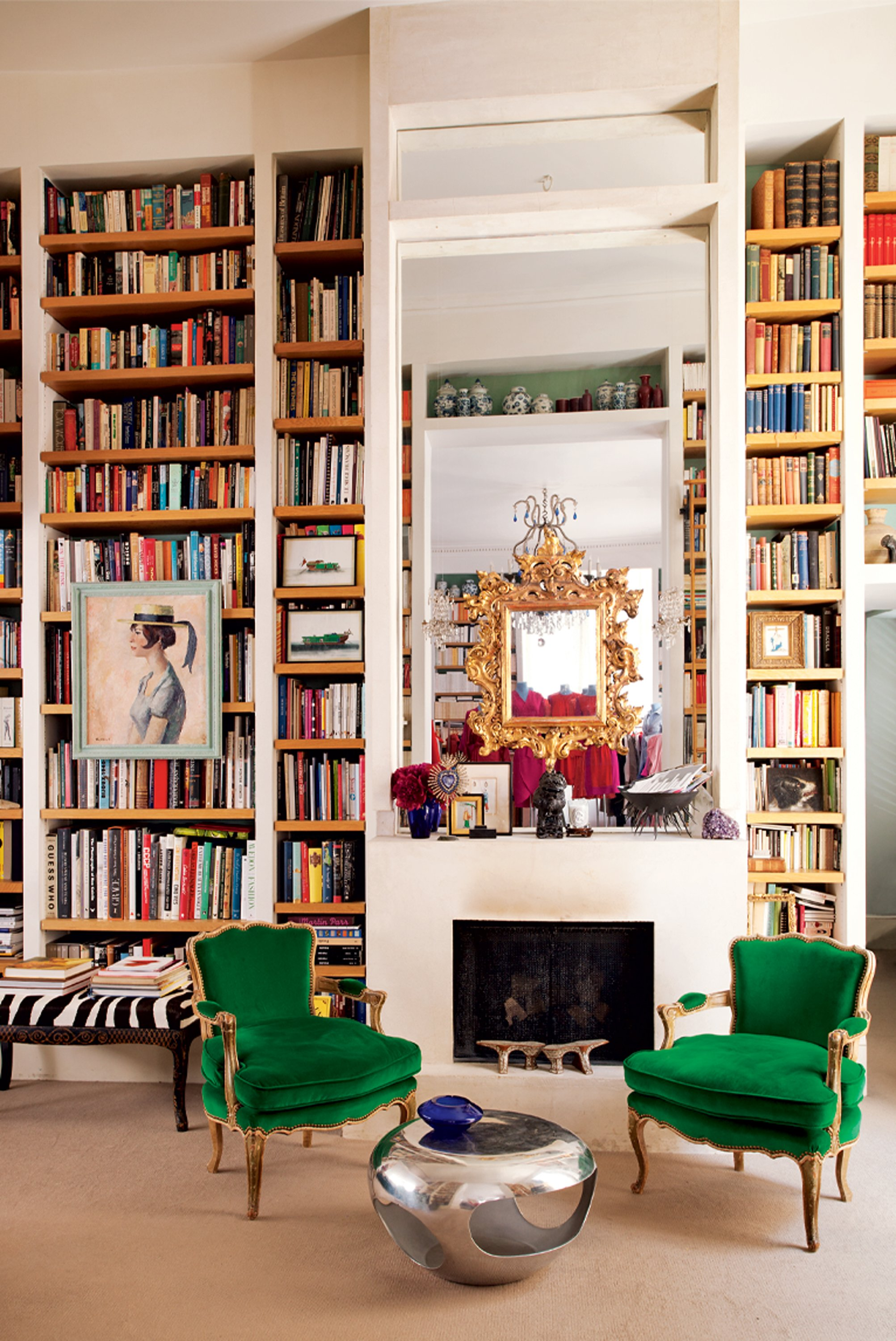 Make A Living Room A Library: Get Some Interior Inspiration From Instagram's 7 Most