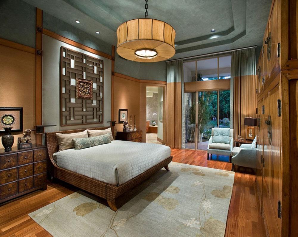 Mad Men inspired bedroom