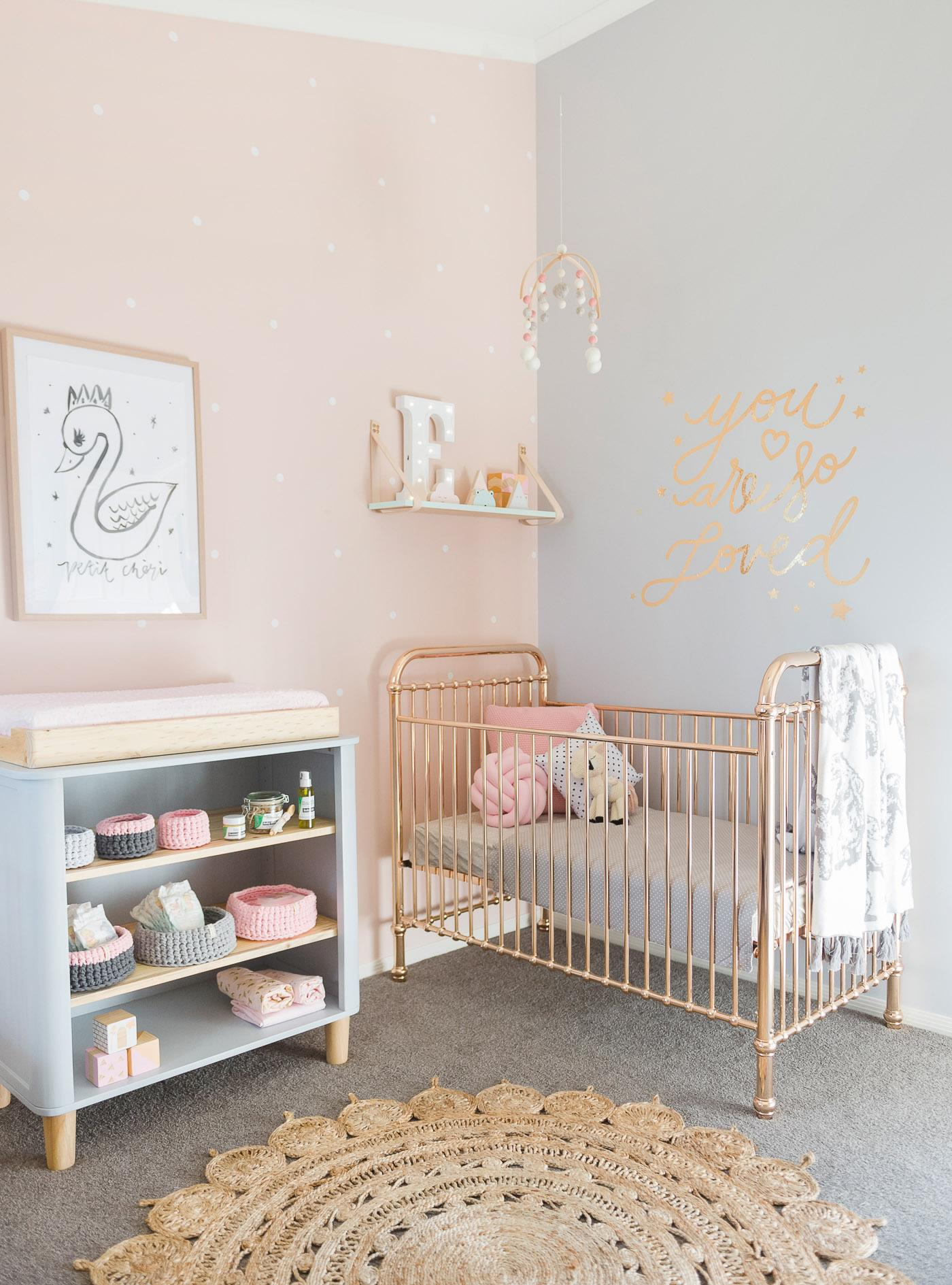 Peach-grey-nursery-decor