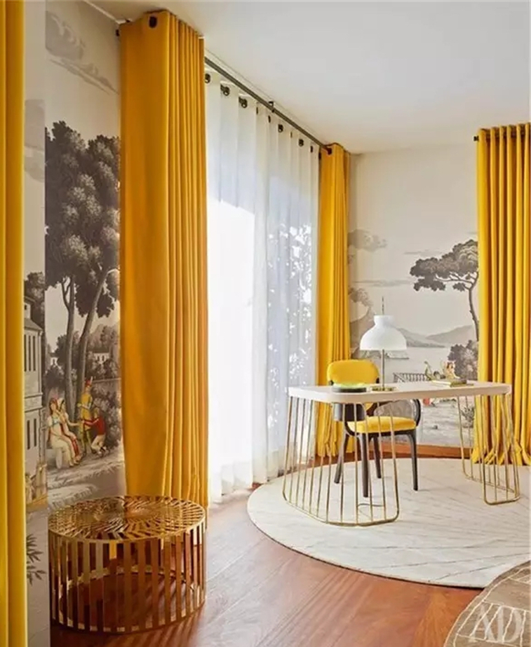 Yellow-office-decor