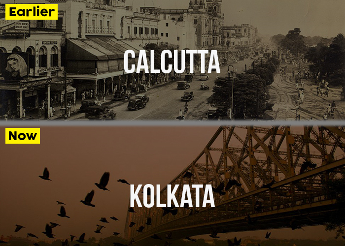 Kolkata, then and now.