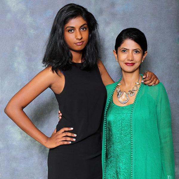 Diya and Kavitha Varadaraj