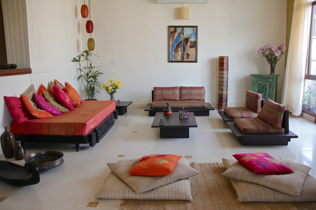 Indian Minimalistic living room decor