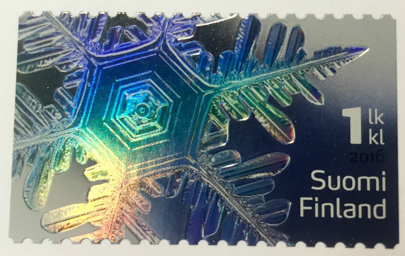 Finland Holographic Stamp