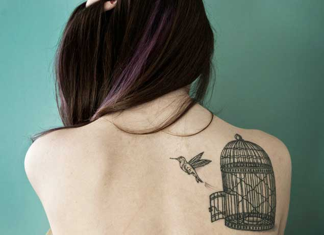 hummingbird-cage-tattoo