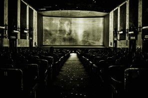 An Interior Shot Of The Ritz Single-Screen Cinema In New Delhi