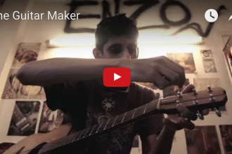 Samir Karnik Guitar Maker video