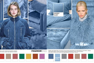 Pantone Riverside and Airy Blue