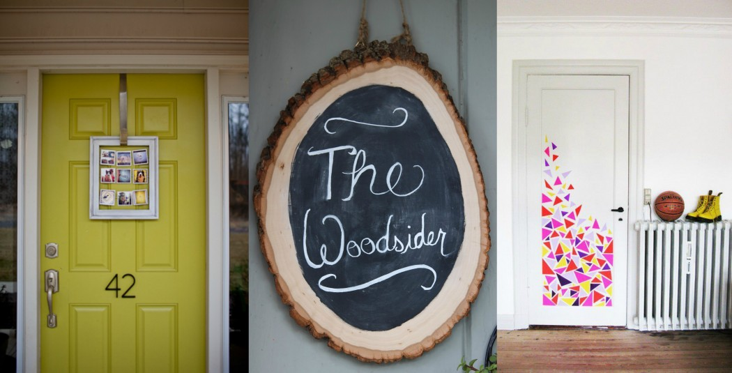 DIY Front door decor ideas