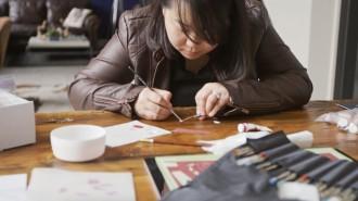 jackie huang paper artist
