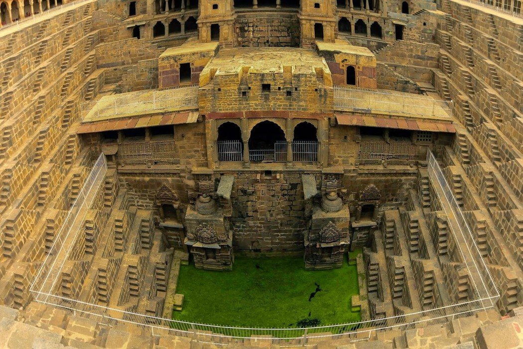 india jaipure chand baori step wells