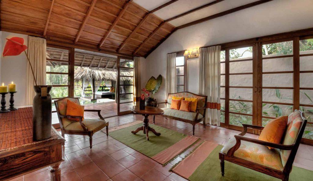 Lily Pool Villa, Living room