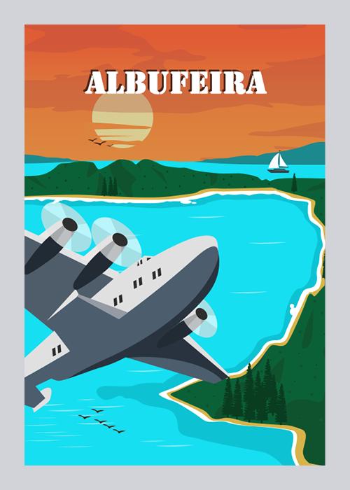 Albufeira graphic